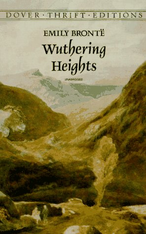 Wuthering Heights (Dover Thrift Editions), EMILY BRONTE