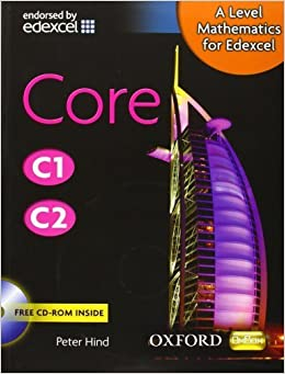 Mathematics for Edexcel: Core C1/C2 by Hind, Peter (2008) Hardcover