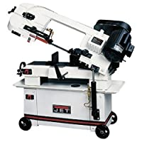 JET 414459 HVBS-7MW 7-Inch 3/4-HP Horizontal/Vertical Bandsaw, 115/230-Volt 1-Phase from JET