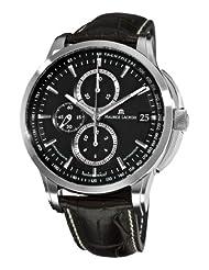 Maurice Lacroix Men's PT6128-SS001330 Pontos Black Chronograph Dial Watch