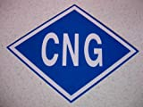 CNG Sticker, Compressed Natural Gas Vehicles,cng Decal, Ngv , Laminated Made in USA