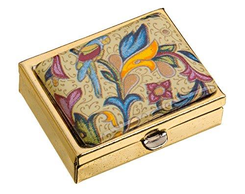 pillendose-metall-keramik-glas-emaille-32-x-17-x-41-cm-blumenornamente-eckig