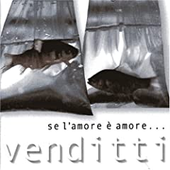 Cover Album of Antonello Venditti - Se l'amore è amore (2000)