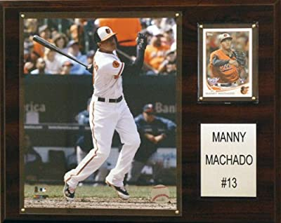 MLB Baltimore Orioles Manny Machado Player Plaque
