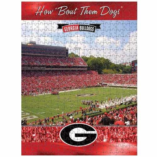 Cheap Fun Racing Reflections Georgia Bulldogs 18X22 550 Piece Jigsaw Puzzle (B002QTJYSW)