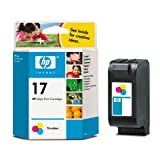Hp Tri Colour Ink Cart No.17 (15Ml)by HP
