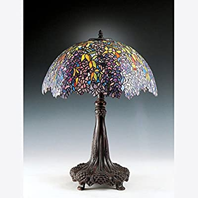 Quoizel TF6034R Tiffany Table Lamp