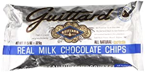 Guittard Milk Chocolate Maxi Chips, 11.5 Ounce