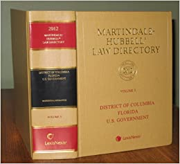 Martindale hubbell law directory 2011