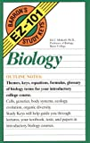 img - for Biology (Barron's EZ-101 Study Keys) book / textbook / text book