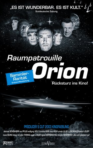 Raumpatrouille Orion - Rücksturz ins Kino [VHS]