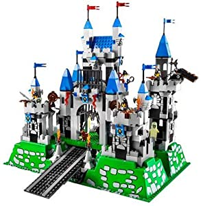 Amazon.com: Lego Knights Kingdom Set #10176 Royal Castle: Toys & Games