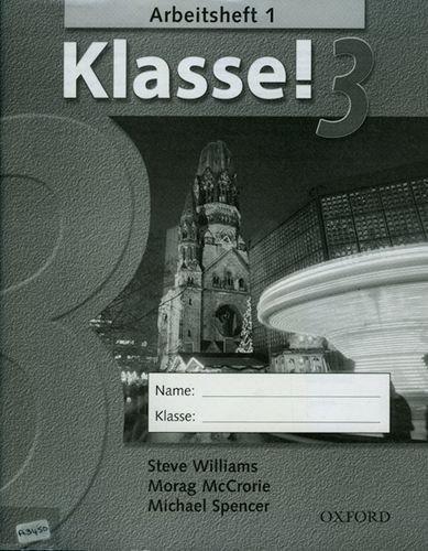 Klasse!: Part 3: Workbook: Workbook 1 Pt. 3