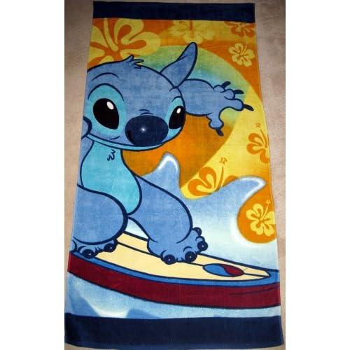 Amazon.com : Disney Store STITCH Beach Towel : Everything Else