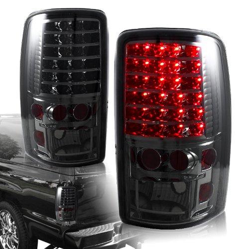 2000 - 2006 Gmc Yukon & Chevy Suburban Tahoe Led Chrome Housing Smoked Lens Altezza Tail Light Lamps