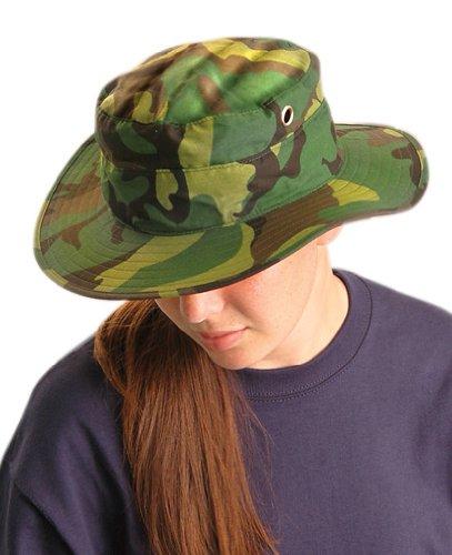Ranger Hat Cooling heat stress prevention- Jungle Camo - Large