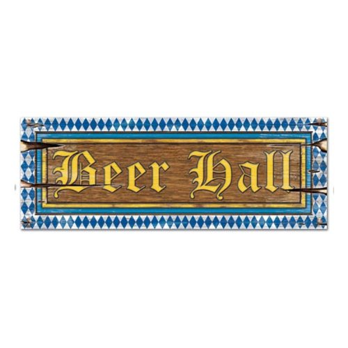 Beer Hall Sign Party Accessory (1 count)