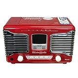 JUKE BOX型 CDラジオ Juke Box ジュークボックスコカ・コーラ レトロCDプレーヤー