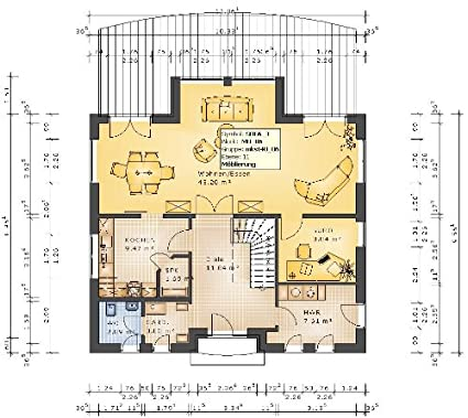 bungalow bauen grundrisse. Black Bedroom Furniture Sets. Home Design Ideas