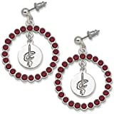 NBA Cleveland Cavaliers LogoArt Spirit Earrings Amazon.com
