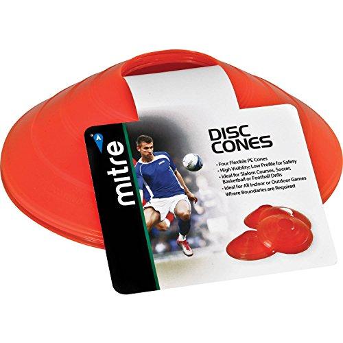 Mitre Disc Cones, Orange, 7.75