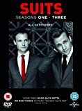 Suits (Seasons 1-3) - 12-DVD Box Set ( Suits - Seasons One, Two & Three (44 Episodes) ) [ NON-USA FORMAT, PAL, Reg.2.4 Import - United Kingdom ]