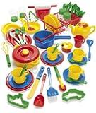 Dantoy Kitchen Play Set (59 Pieces)