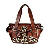 Mia Bossi Maria Diaper Bag, Leopard