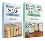 "(2 Book Bundle) ""Homemade Soap For Be..."