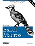 Writing Excel Macros: Automating Excel to Work for You (1565925874) by Roman PhD, Steven