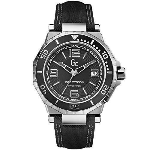 Guess X79006G2S - Reloj de pulsera hombre, piel, color negro