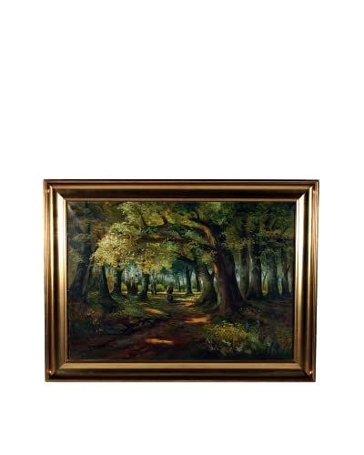 Walking Home, 1916 Framed Artwork