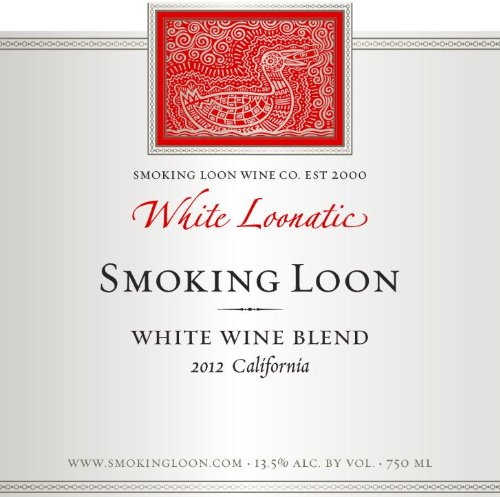 2012 Smoking Loon White Loonatic 750 Ml