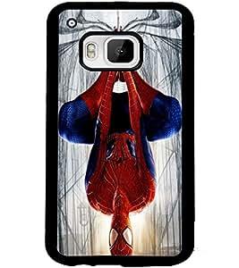 ColourCraft SuperHero Design Back Case Cover for HTC ONE M9