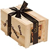 Valentino Chocolatier Wooden Cargo Box Filled with Assorted Chocolates 300 g