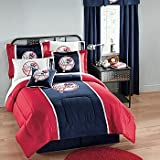 New York Yankees 7pc FULL BEDDING SET, Comforter, Sheets, 2 Pillow Shams, M ....