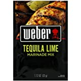 Weber Grill Tequila Lime Marinade, 1.12-Ounce (Pack of 12)