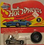 Hot Wheels 1993 Vintage Collection Red Baron Car with Matching Collectors Button