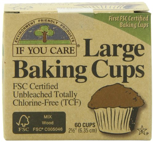 If You Care Unbleached Large Baking Cups, 60-Count Boxes (Pack of 24) (If You Care Baking Cups compare prices)