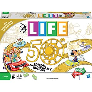 Game of Life 50th Anniversary board game!