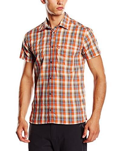Salewa Camisa Hombre Renon 2.0 Dry M S Srt Naranja
