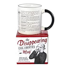 The Disappearing Civil Liberties Mug