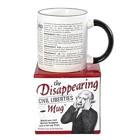 The Disappearing Civil Liberties Mug