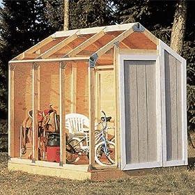 Wood Storage Building Fast Framer Universal Storage Shed