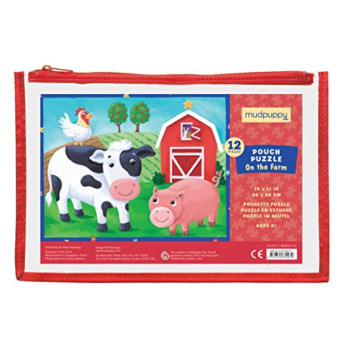Mudpuppy On the Farm Pouch Puzzle