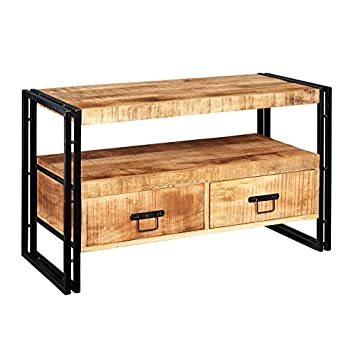 Neptune 100% Reclaimed Wood Furniture TV Stand/Entertainment Table