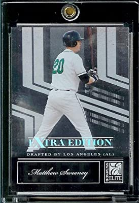 2007 Donruss Elite Extra Edition #32 Matthew Sweeney - Los Angeles Angels / (RC) Rookie Baseball Card / Trading Card