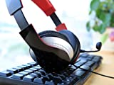 Edifier Fashion Over-ear Enhanced Bass Stereo PC Gaming Music Calls Headset with Detachable Microphone (K830 Black)