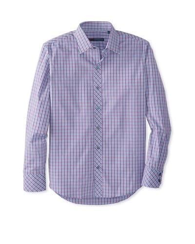 Zachary Prell Men's Siglin Checked Long Sleeve Shirt