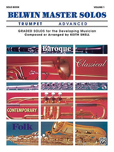 Belwin Master Solos (Trumpet), Vol 1: Advanced (Belwin Master Solos Trumpet compare prices)